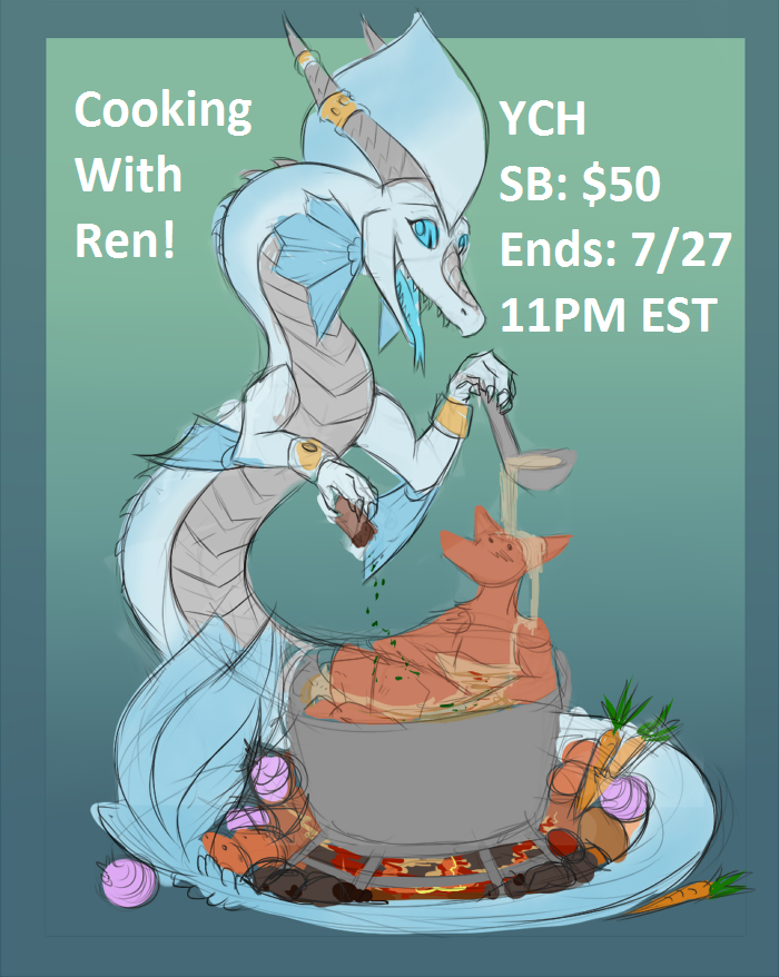Cooking with Ren YCH Auction