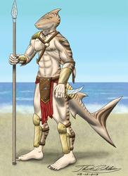 Reefkin Warrior