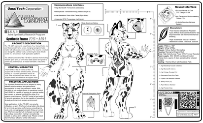 Cheetah Synthetic Frame Datasheet by Omnipossum