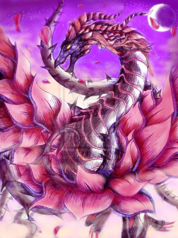 The Black Rose Dragon