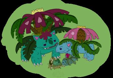 Bulbasaur Evolution Line
