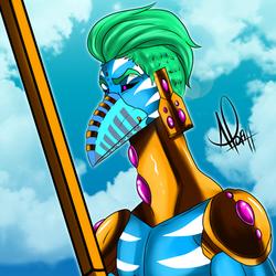 The Uragi Tarot - King of Swords