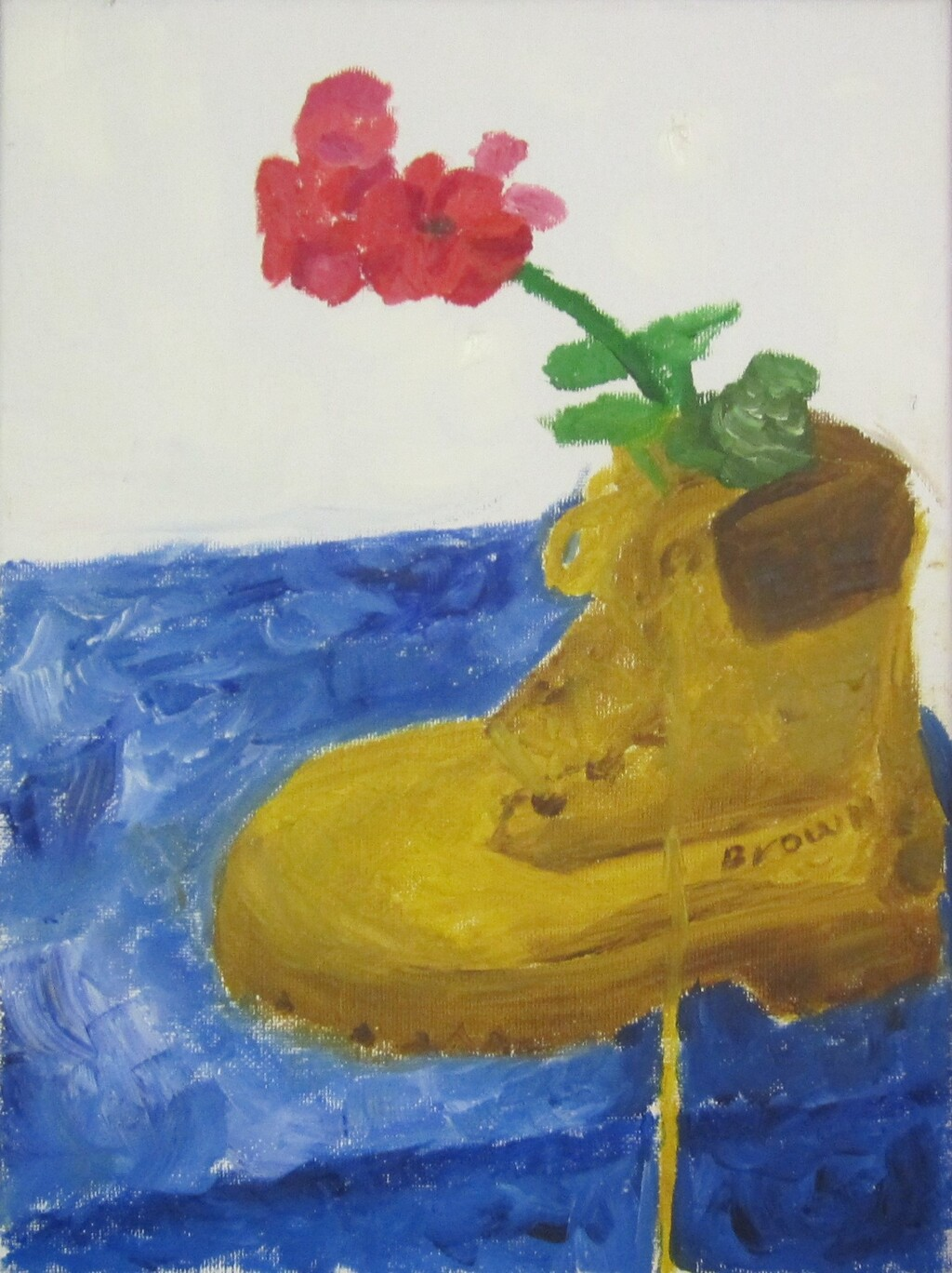 Boot with Flower