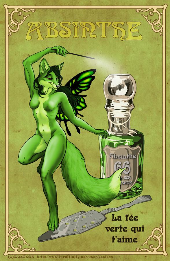 Absinthe Fairy Weasyl
