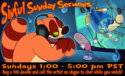 Sinful Sunday Sermons Poster