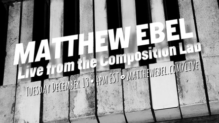 Live from the Composition Lab - December 13, 2016
