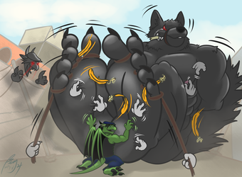 AT: How to Overcome A Giant Furry XP