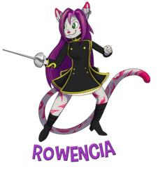 rowencia badge