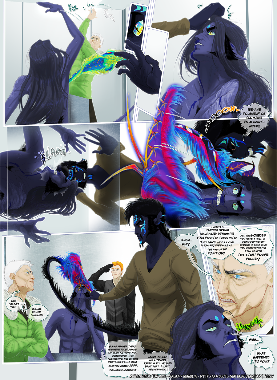 Most recent image: Galaxy Magnolia Book 1 Page 32