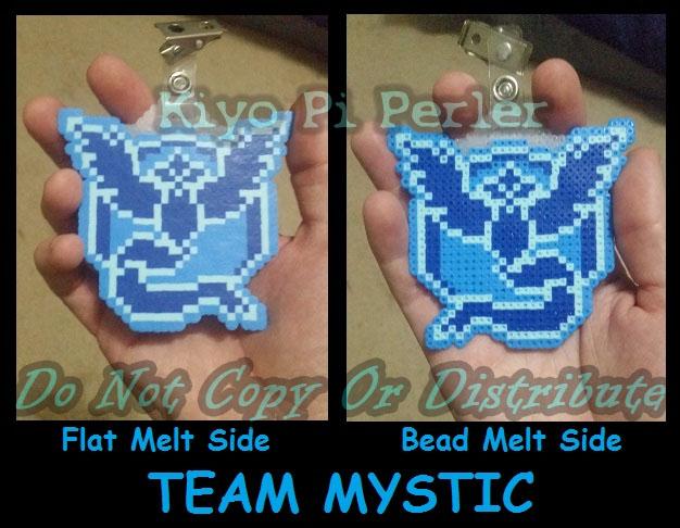 Team Mystic Badge (Original Pattern)