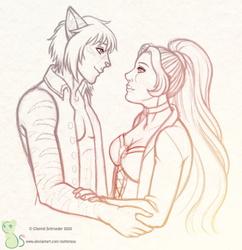 Commish: Bella and Zevran