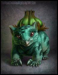 Realistic Bulbasaur
