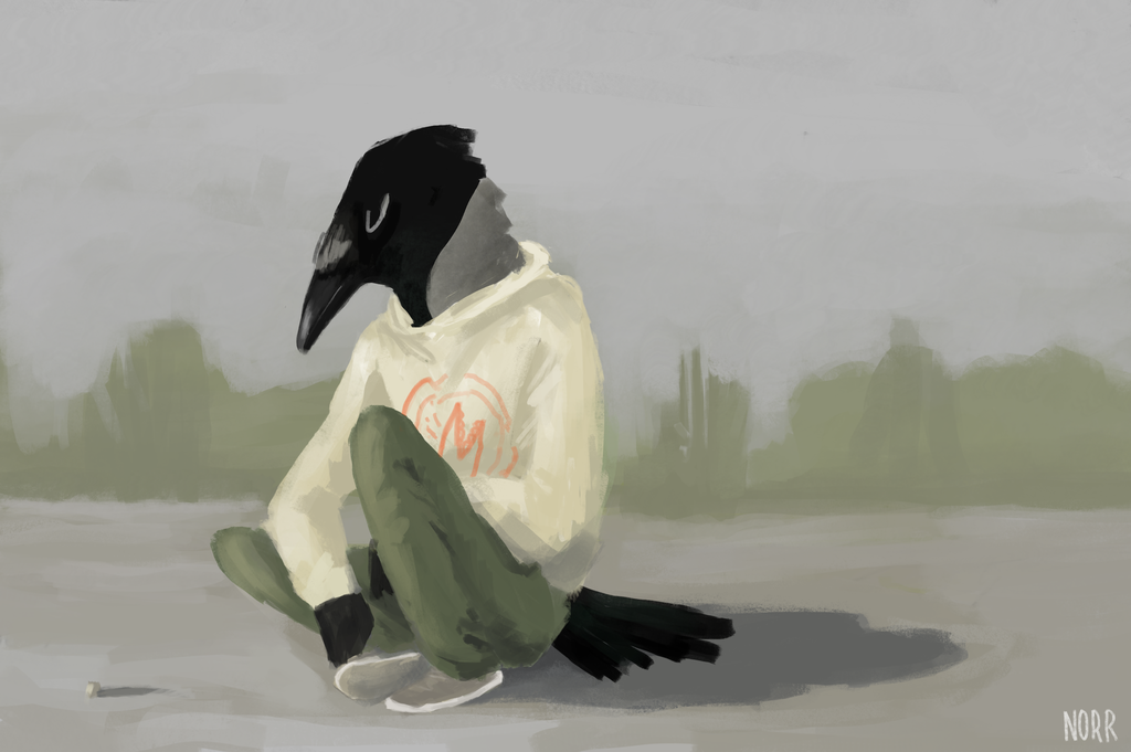 Most recent image: Airfield crow