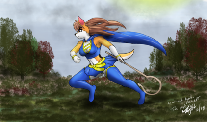 [Collaboration] Super Collie on the move