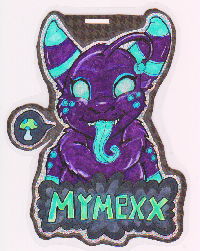 Featured image: Mymexx cutieface badge