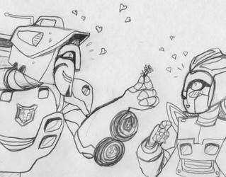 Adorable Lovebots