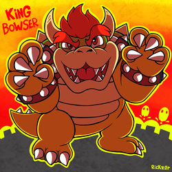 Super September! Day 29 - King Bowser