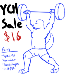 Weightlifter YCH [2 slots left]