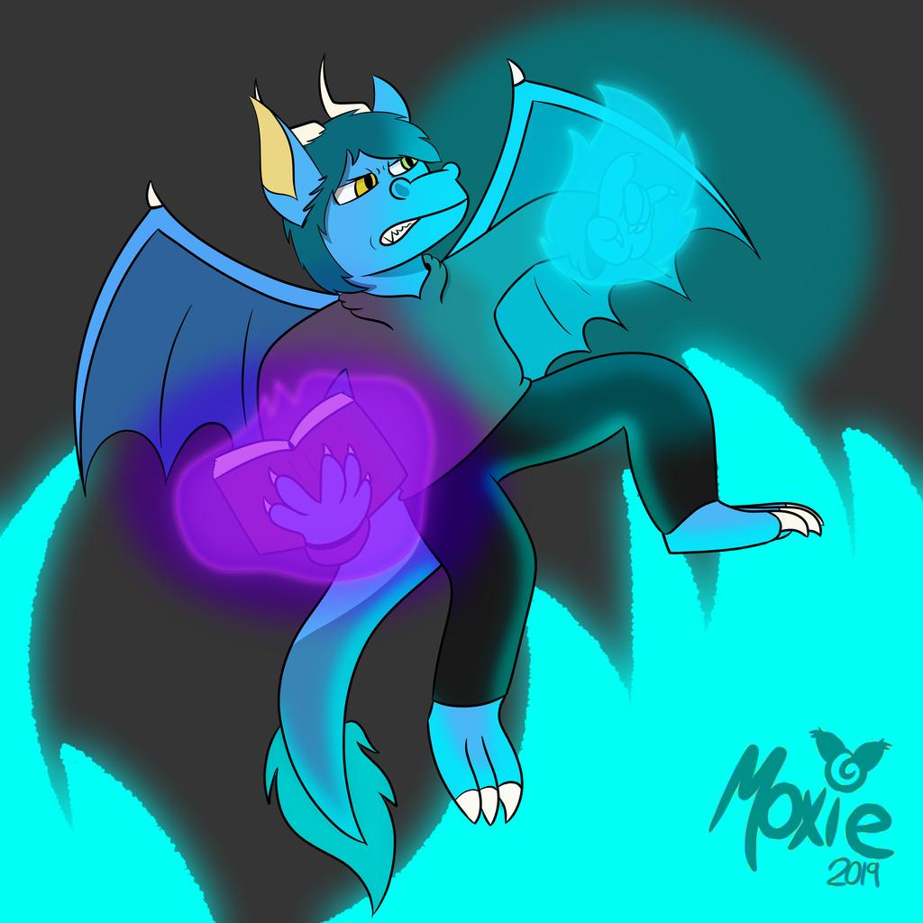 Zaffre the dragon