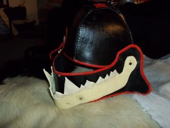 Jaw bone Helm