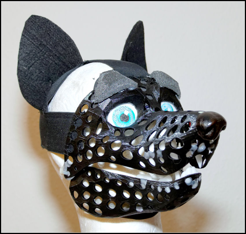 Minimal canine fursuit head-base - version 6 — Weasyl