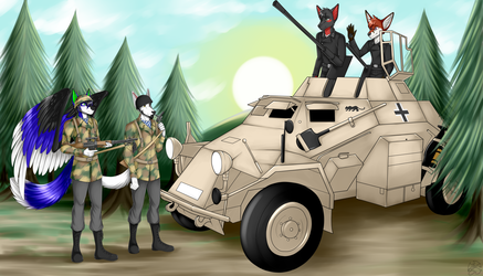 Commission: A meet at the Front