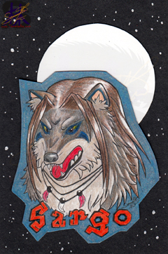 Sargo - Badge - Traditional Art