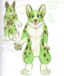 Green Corgi Concept
