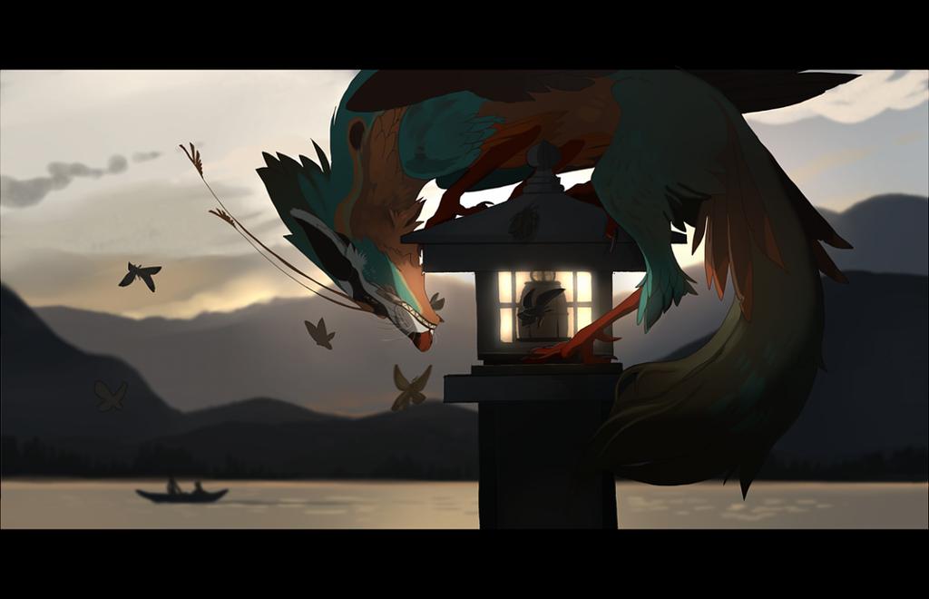 The evening hunter