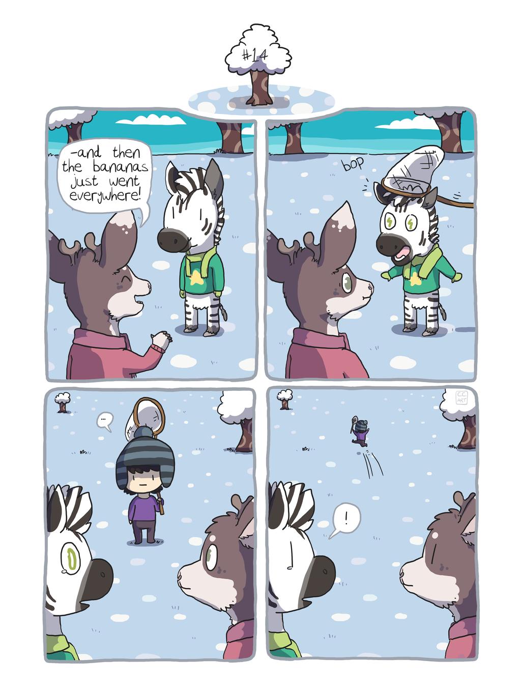 Zebra Crossing #14 [comic]
