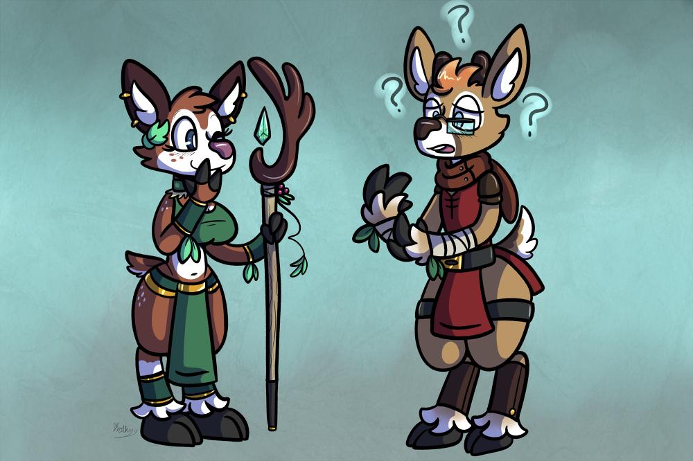 Oh, Deer~