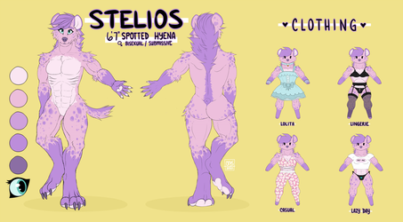 Stelios SFW Reference Sheet