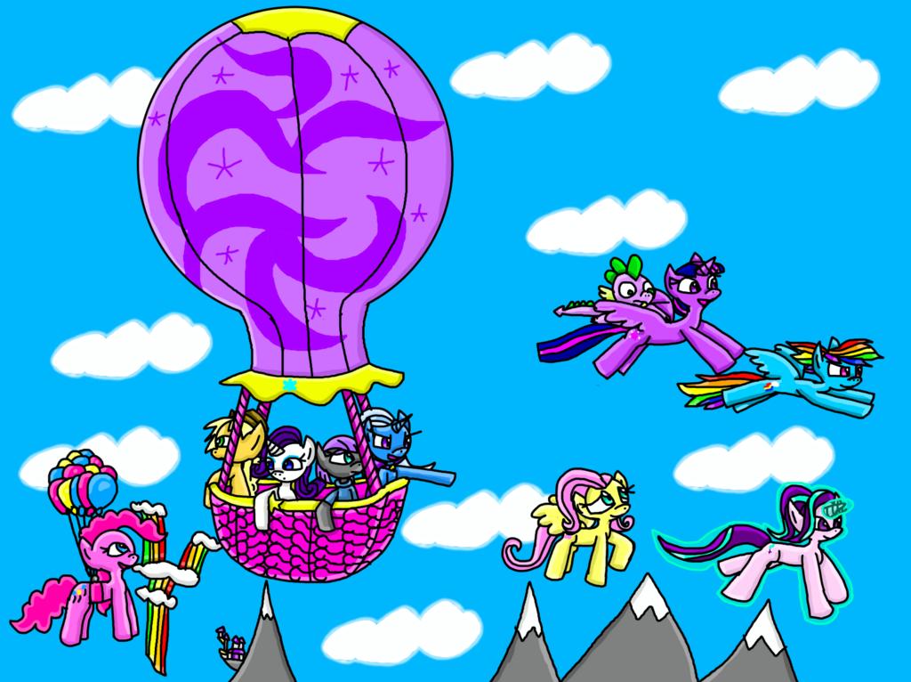 High Flying Friends
