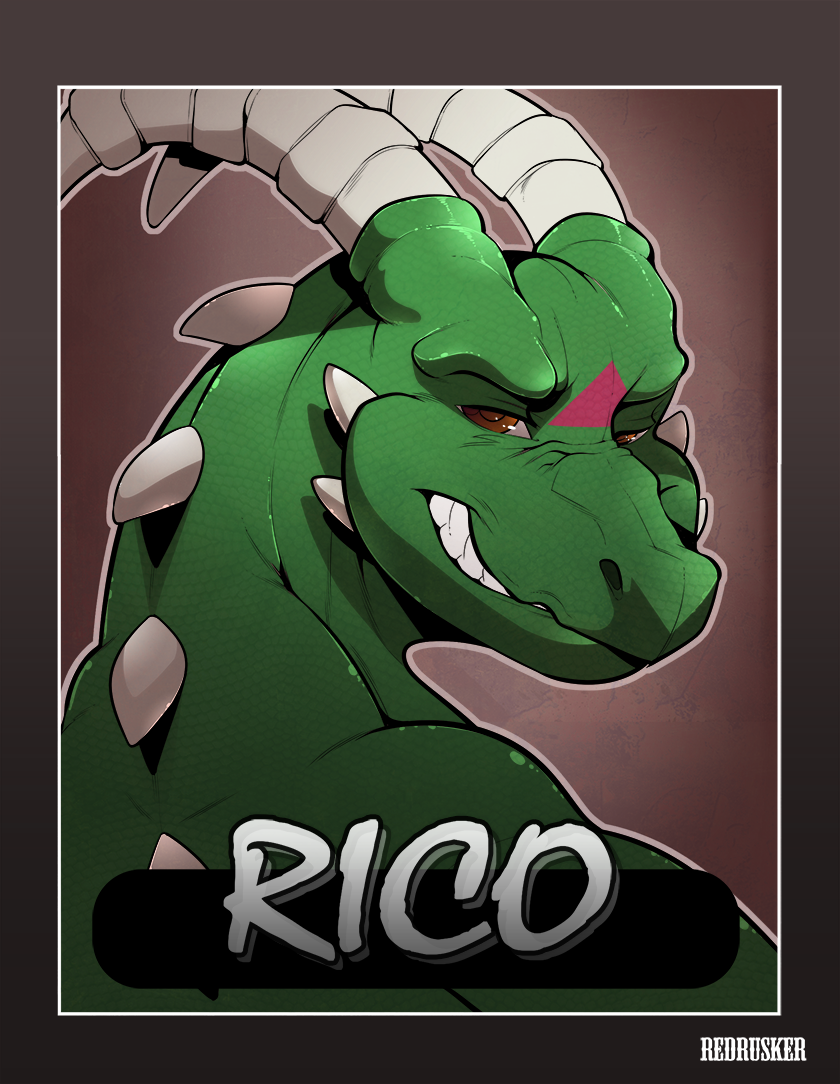 Rico badge #1