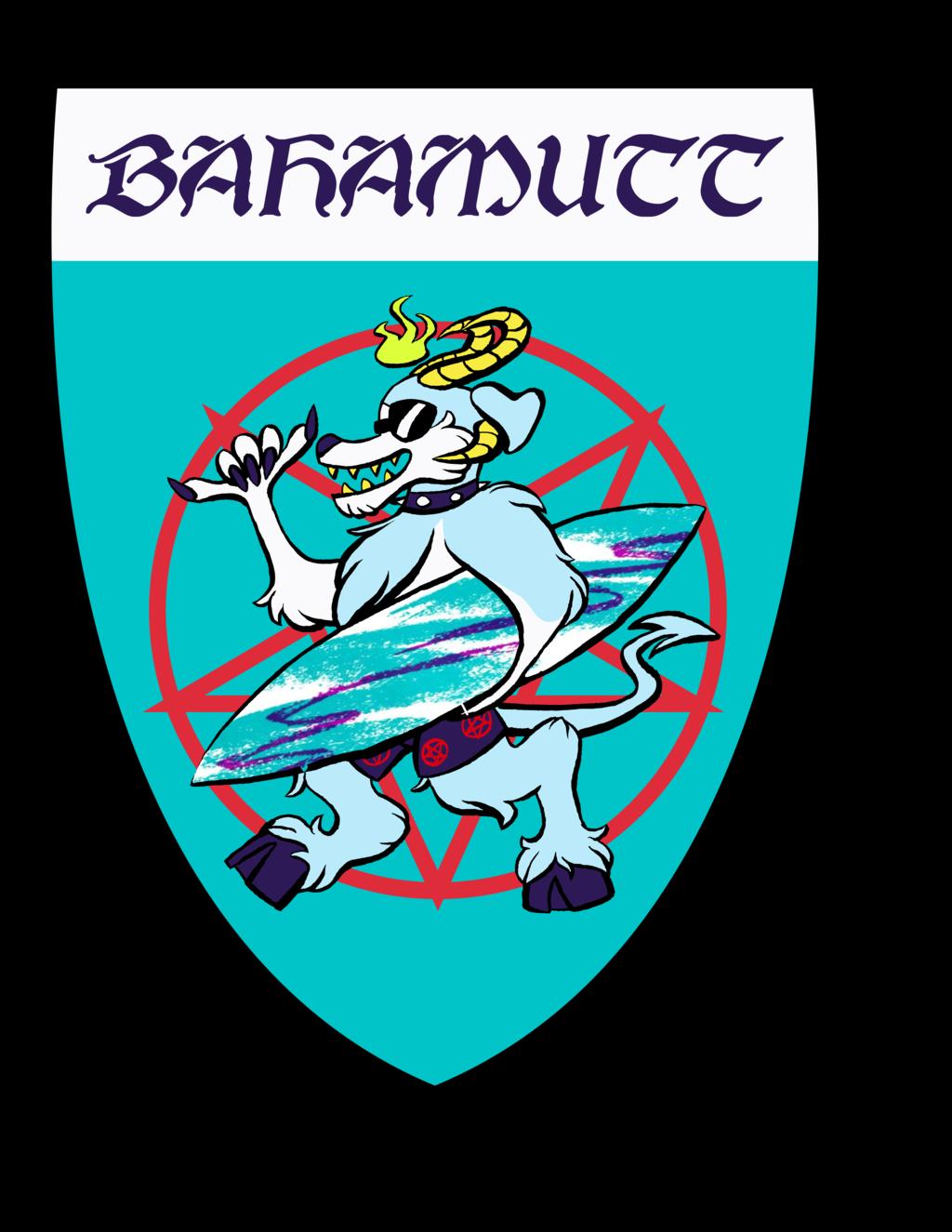 Bajamutt Heraldy Badge