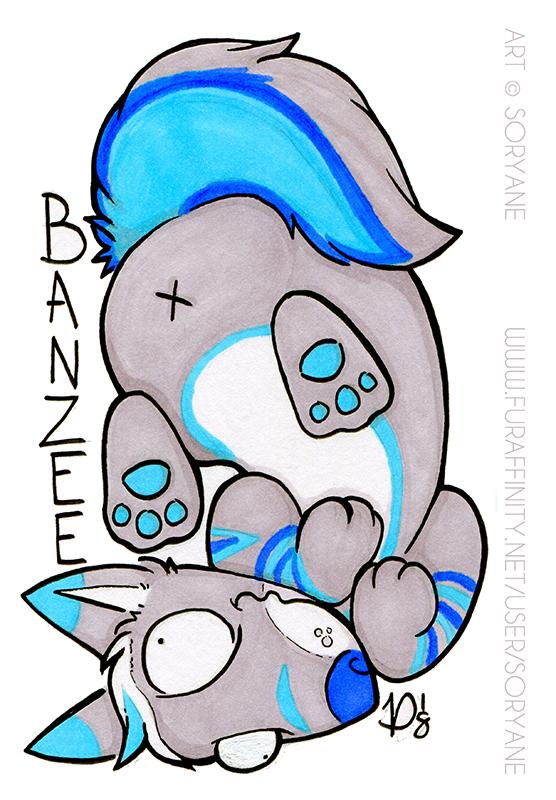 Banzee - Derp Badge