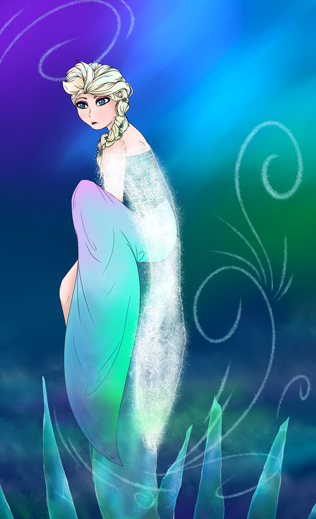 Most recent image: Elsa From Frozen ~FanArt