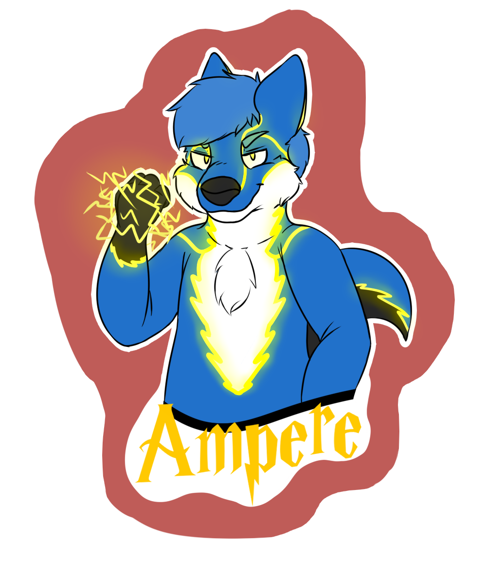 [C] Ampere Waist up Badge
