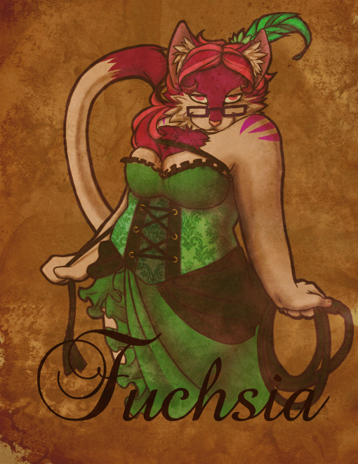 Midwest Furfest Pirate badge 2