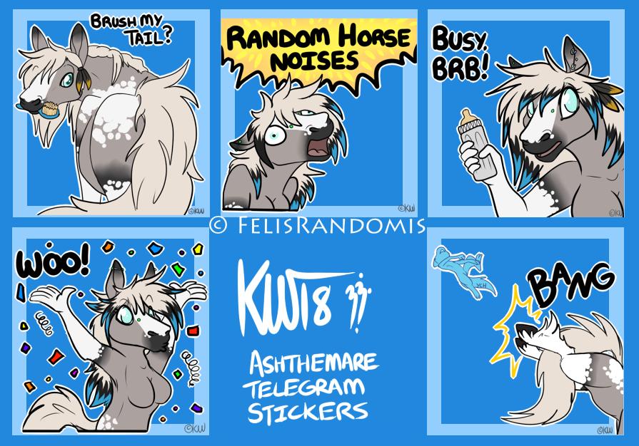 AshTheMare Telegram Stickers 3