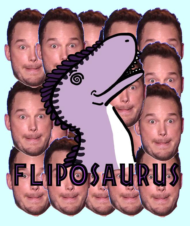 Most recent image: PRATT PRATT PRATT Fliposaurus Badge