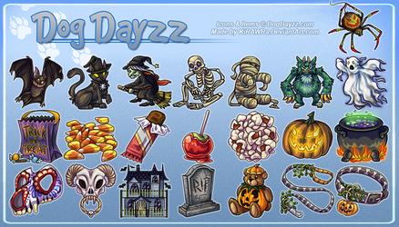DogDayzz: Holidays - Halloween