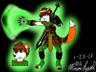 Demon Fighter of Wind (3DS Art)