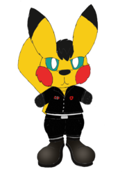 Ace the Canadian Pikachu