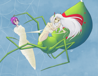 Commission: Spider's Web