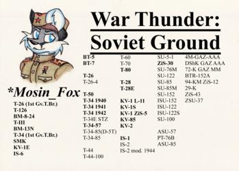 War Thunder Soviet Ground