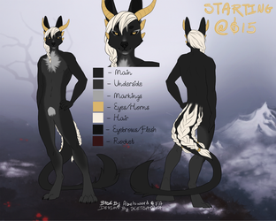 Canid-Dragon Adoptable [ Sold ]