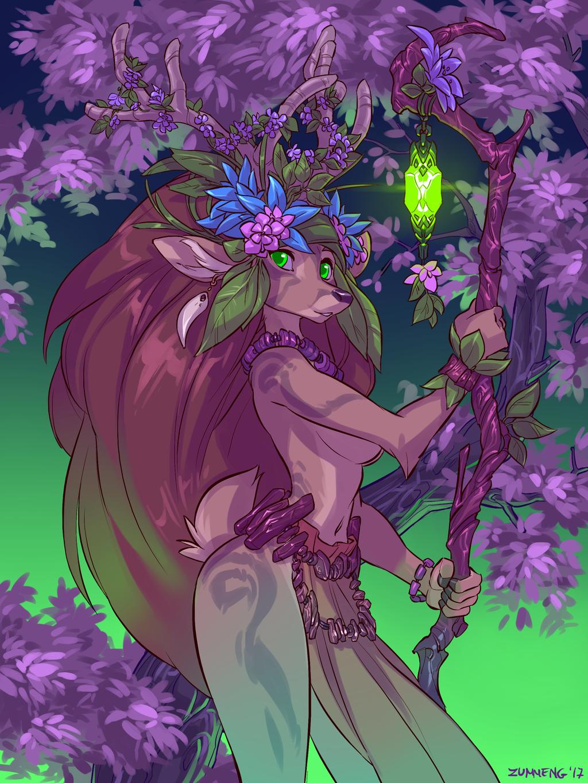 Deer Druid