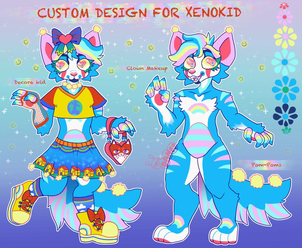 Decora Clown Cat Custom