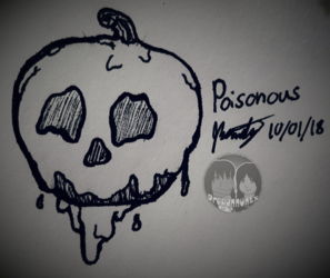 "Inktober 2018 - Day 1 ""Poisonous"""
